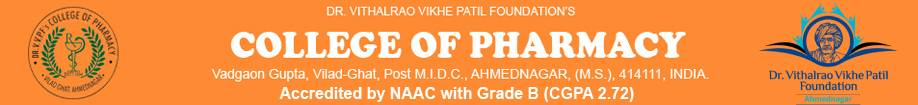 Dr.Vithalrao Vikhe Patil foundation's College of Pharmacy